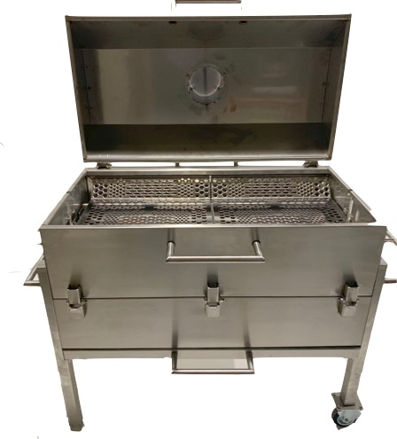 All-stainless grill