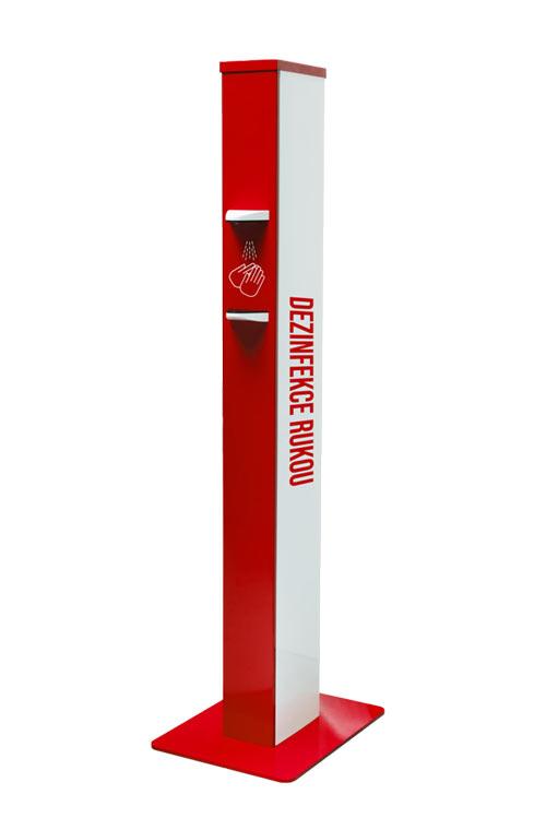 Dávkovací automatický bezdotykový stojan na dezinfekci